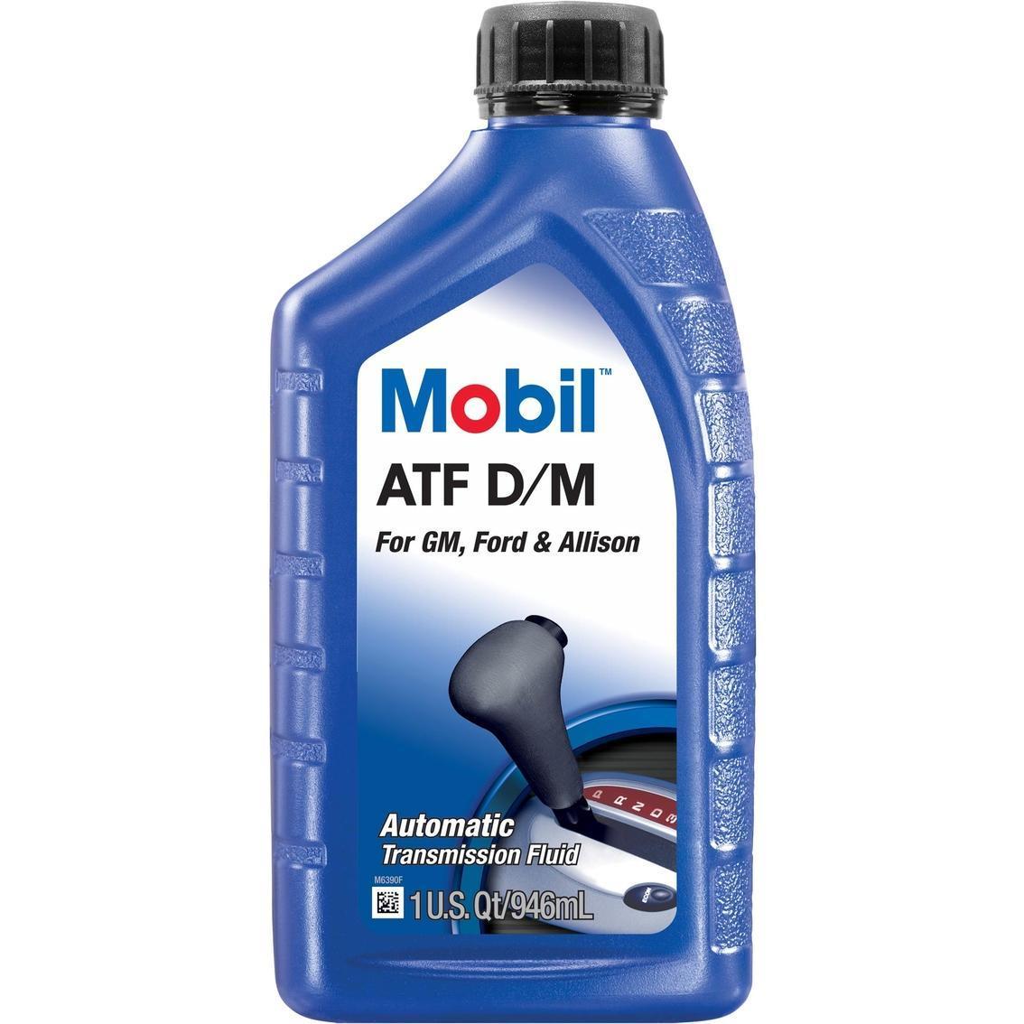 Mobil ATF D/M  Трансмиссионная жидкость для АКПП и ГУР