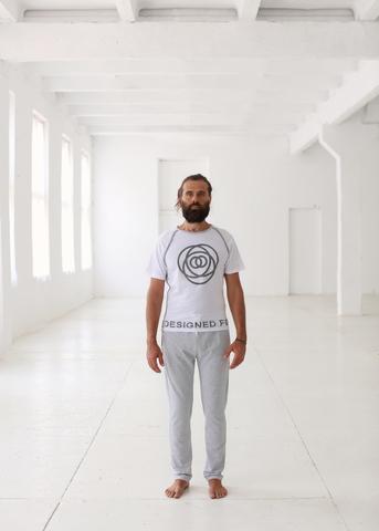 <p><span>Мужская футболка дляйоги и фитнеса</span></p> TERRITORY OF YOGA