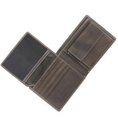 Портмоне WENGER Le Rubli, цвет коричневый, воловья кожа, 11×2×9,5 см