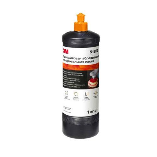 Материалы 3М Полировальная паста одношаговая (оранжевый колпачок) 1л 3M-51825.jpg