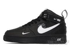 Кроссовки Nike Air Force 1 Mid 07 LV8 Black