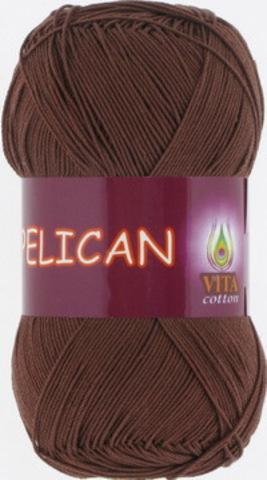 Пряжа Pelican (Vita cotton) 3973 Светлый шоколад