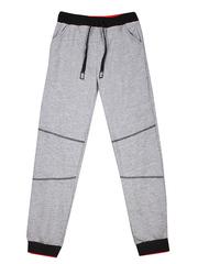 BAC002637 брюки детские спортивные, серый меланж