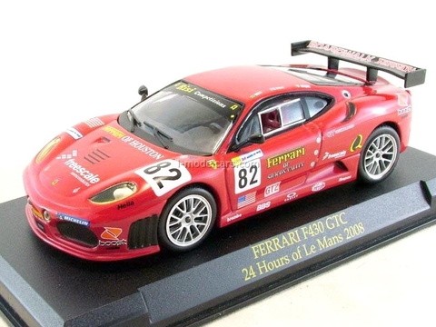 Model Cars Ferrari F430 Gtc Le Mans 2008 Red 1 43