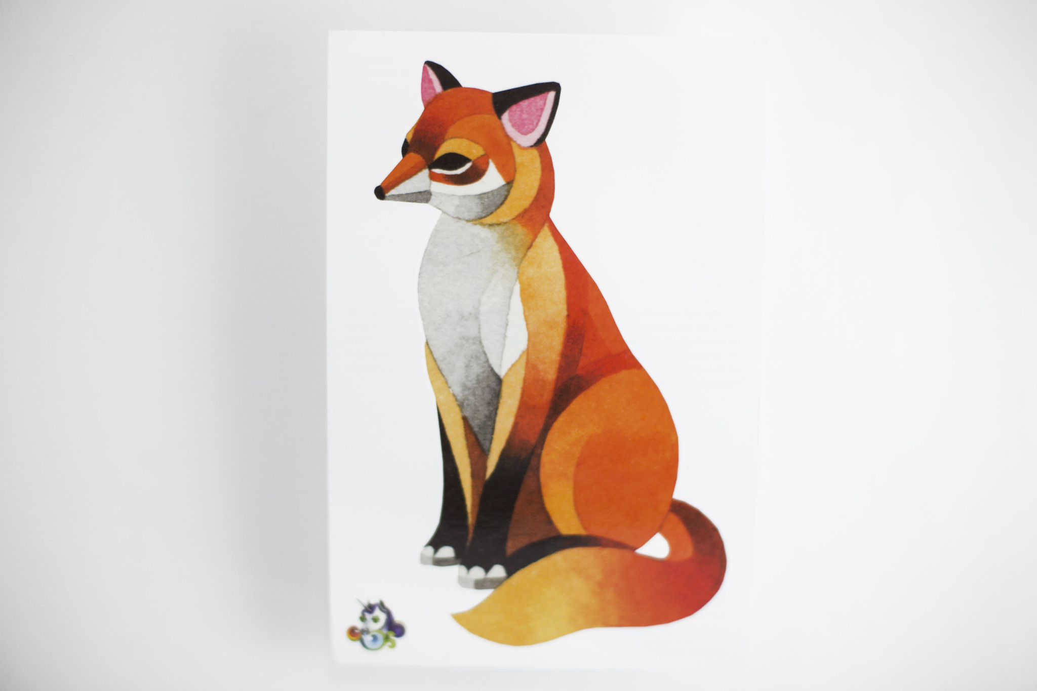 Переводная татуировка Classic fox