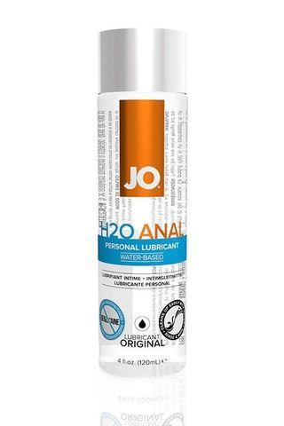 Анальный лубрикант на водной основе JO Anal H2O - 120 мл.