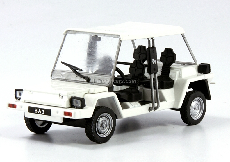VAZ-1801 Pony white 1:43 DeAgostini Auto Legends USSR #128