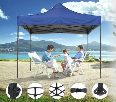 Шатер - палатка S8.1, 3x3м зеленый