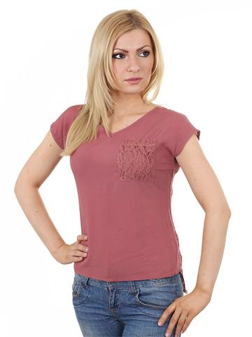 4145A футболка жен., тм.розовая