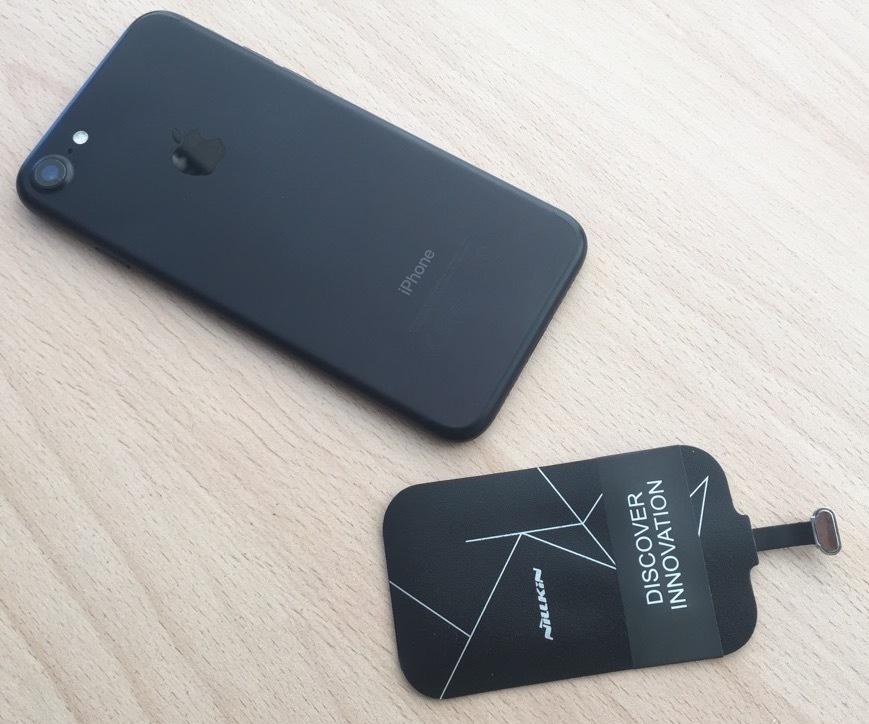 iPhone 7 Беспроводной приемник-ресивер qi для Apple iPhone 7/ 7 Plus 1iphone7_n_.JPG
