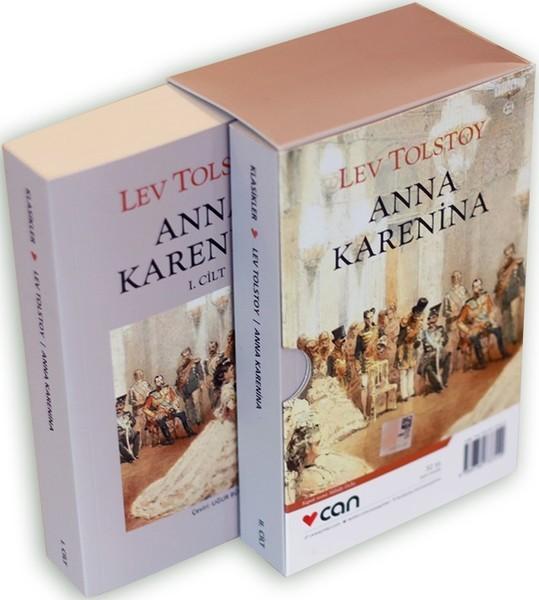 Kitab Anna Karenina-2 Cilt Kutulu | Lev Nikolayeviç Tolstoy ...