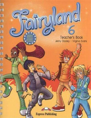 Fairyland 6 Teacher's Book (with posters) - книга для учителя с плакатами в комлпекте