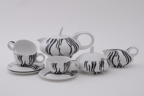 Сервиз чайный 15 предметов Тереза Leander