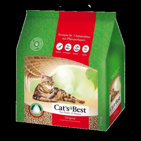 Cat's Best Original Наполнитель для туалета кошек древесный комкующийся