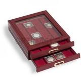 Элегантная деревянная кассета LIGNUM, на 35 квадратных ячеек 35х35 mm,