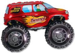 F Мини фигура Большой внедорожник (красный) / Big wheel (14