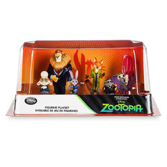 Фигурки Зверополис набор из 6 игрушек