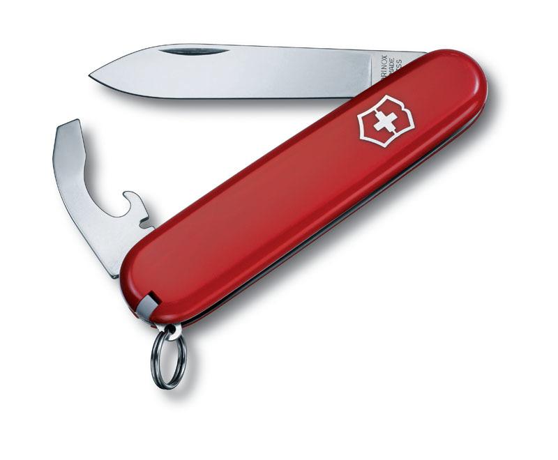 Нож перочинный VICTORINOX Bantam, 84 мм, 8 функций, красный VC2303
