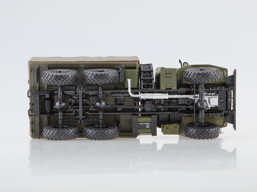 Ural-4320 6x6 Army truck with awning khaki 1:43 Our Trucks (limited series)
