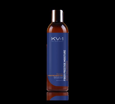 KV-1 Шампунь с экстрактом меда и гиалуроновой кислотой Fiber Prestige Moisture Shampoo
