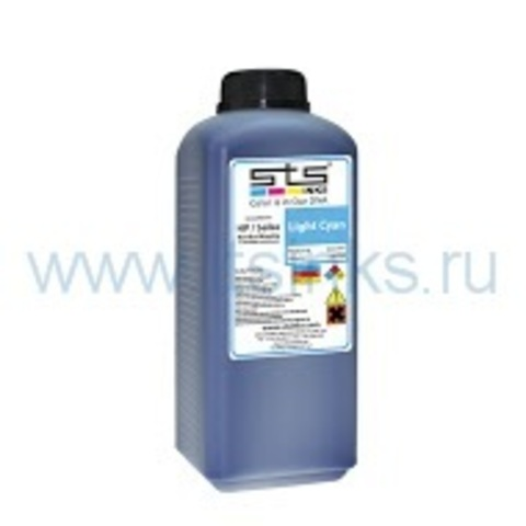 Чернила STS Low Solvent Light Cayn 1000 мл