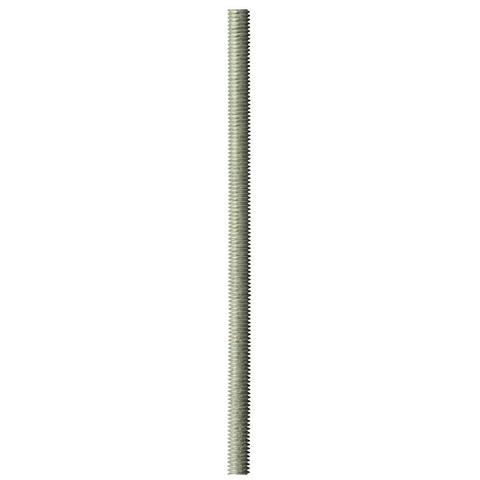 Шпилька резьбовая DIN 975, М8x1000, 1 шт, класс прочности 4.8, оцинкованная, ЗУБР