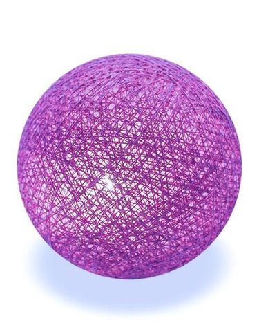 Хлопковый шарик лаванда