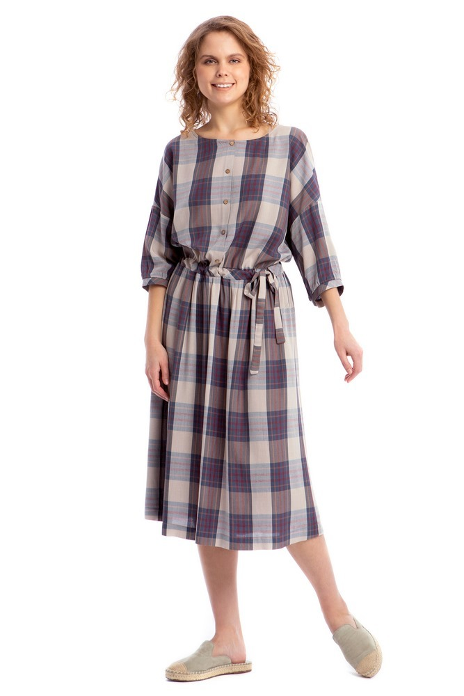 """Летнее платье с длинным рукавом 23362 Платье """"Малуша"""" import_files_3c_3c5f55c064e111ea80ed0050569c68c2_f5085fab64f711ea80ed0050569c68c2.jpg"""