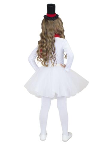 Костюм Снеговик для девочки 3