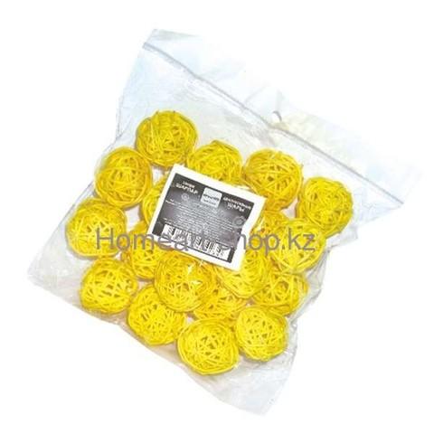 Декоративные шары 3 см * 20шт. ;