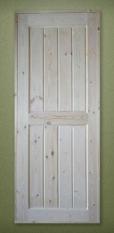 Дверь деревянная межкомнатная филенчатая 2000х700 без коробки