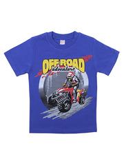 BK002F-60 футболка для мальчика, синяя