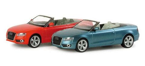 Herpa 034173 Легковой автомобиль Audi A5 Cabrio, НО