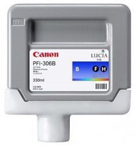 Картридж Canon PFI-306B blue (синий) для imagePROGRAF 8400/9400S/9400/8300S
