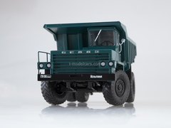 BELAZ-540 Dumper experimental green 1:43 Dealer models BELAZ