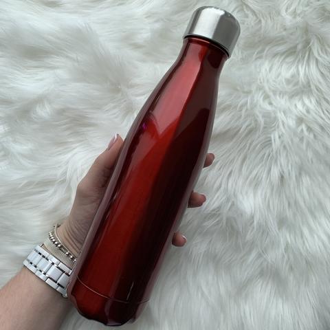 Бутылка для воды 500 мл /красный/