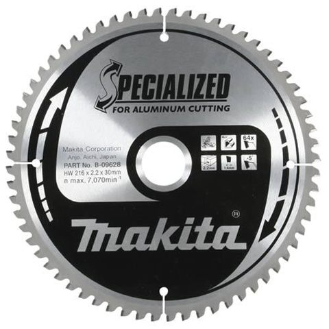 Диск по алюминию Makita 190*20*2 мм /60, –5°, TCG