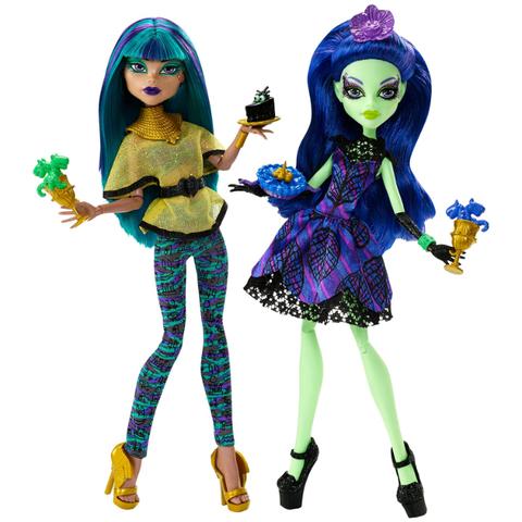 Набор кукол Монстер Хай Нефера Де Нил и Аманита Найтшейд, Mattel
