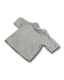Футболка - Серый. Одежда для кукол, пупсов и мягких игрушек.