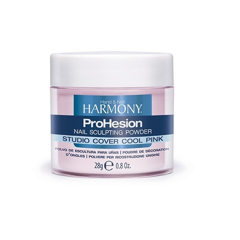 HARMONY Studio Cover Warm Pink Powder - камуфлирующая насыщенно-розовая акриловая пудра, 28 г