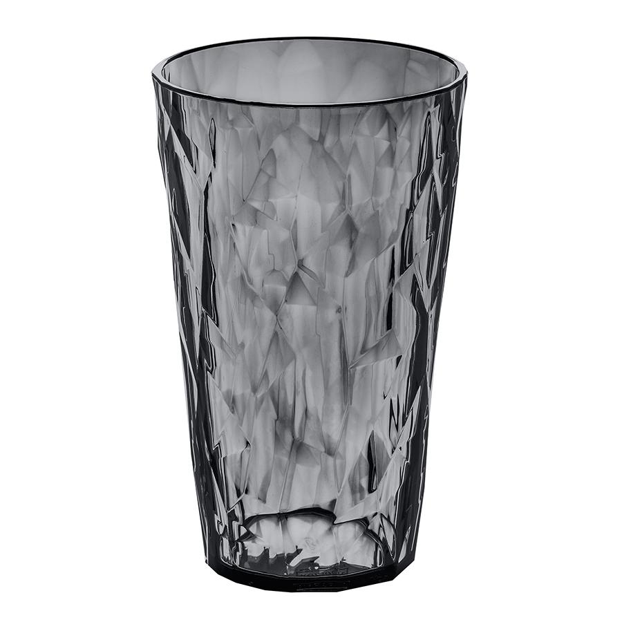 Стакан CLUB L, 400 мл, серый Koziol 3578540Бокалы и стаканы<br>Бокалы CLUB создадут сказочное настроение - утром на солнечном свете они будут искриться, а вечером превратятся в волшебные кубки. <br>Коллекцию полимерной посуды CLUB высоко оценят любители&amp;nbsp,&amp;nbsp,шумных вечеринок, семейных застолий и встреч с друзьями: такая сверхлёгкая и ударопрочная посуда специально создана для удобной эксплуатации, а прозрачный кристальный дизайн - для бесконечного веселья.<br><br>Особенности:<br>- объем 400 мл<br>- весит мало, приятно держать в руках<br>- ударопрочность<br>