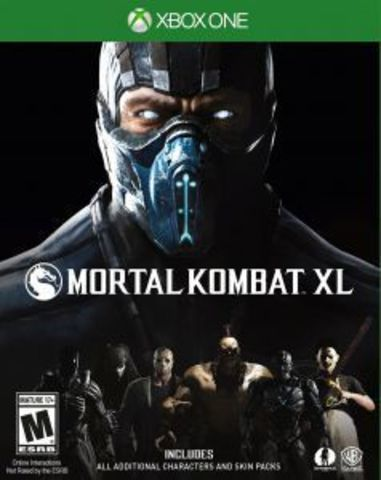 Microsoft Xbox One Mortal Kombat XL (русские субтитры)