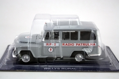 Willys Rural Police Brazil 1:43 DeAgostini World's Police Car #60
