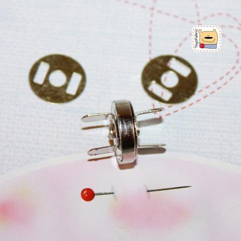 Кнопка магнитная 14мм  F03-14