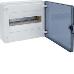 Щит открытой установки, 12М, с прозрачной дверцей