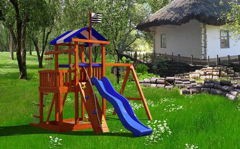 Детская деревянная площадка Бретань