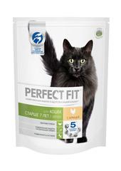 PERFECT FIT для кошек старше 7 лет с курицей 650 г
