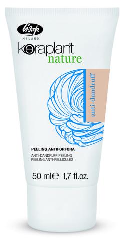 Пилинг от перхоти - Lisap Keraplant Nature Anti-Dandruff Peeling 4*50 мл