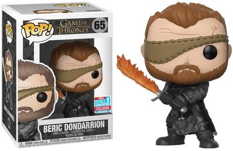 Funko Pop! Television: Game of Thrones - Beric Dondarrion (Excl. to New York Comic Con)