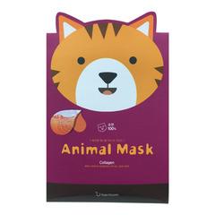 Berrison Animal Mask Series Cat - Маска тканевая с морским коллагеном